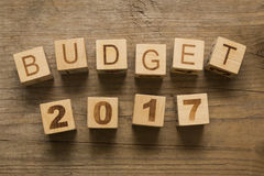 Budget for 2017 Stock Images