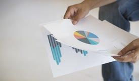 Budgetdiagramm für Unternehmensplan Stockbilder