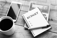 budgeter royaltyfri fotografi