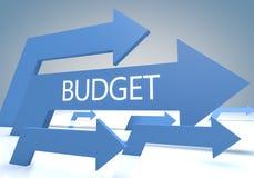 budgeter royaltyfria bilder
