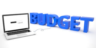 budgeter stock illustrationer