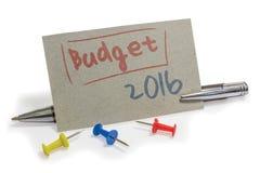 budgeter royaltyfri foto
