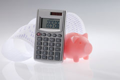 budgeter royaltyfri bild