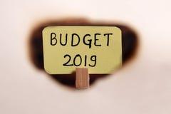 budgeter royaltyfria foton