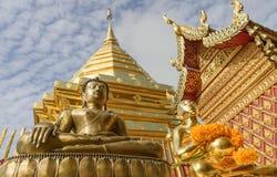 Budha雕象 免版税库存照片