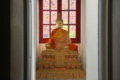 Budha雕象 免版税库存图片