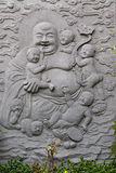 Budha. Shown on relief in stone Royalty Free Stock Images