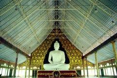 Budha bianco Fotografia Stock