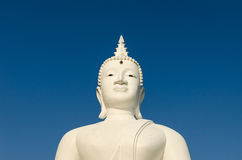 Budha on blue sky Stock Photography