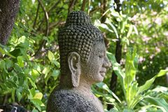 Budha. Cambodia statue Stock Photo