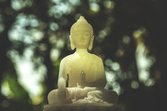 Budha. Do not dwell in the past, do not dream of the future, concentrate the mind on the present moment Royalty Free Stock Photography