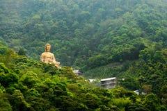 Budha dourado Fotografia de Stock Royalty Free