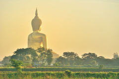 Budha dourado Tailândia foto de stock