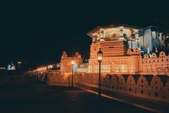 Budha Gouden Tempel bij het Suikergoed Sri Lanka royalty-vrije stock fotografie