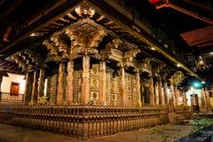 Budha Gouden Tempel bij het Suikergoed Sri Lanka royalty-vrije stock afbeelding
