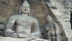 Budha in holen dichtbij Datong Royalty-vrije Stock Foto