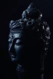 Budha huvudstaty royaltyfri fotografi