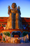 Budha in Likir monastery Stock Images
