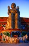 Budha nel monastero di Likir Immagini Stock