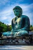 Budha på Kamakura Arkivbilder
