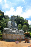 Budha Statue. This massive Budha Statue captured inside the area of Chin Swee Cave Temple, Genting, Malaysia. It is a place for Budhism to pray and worship their Royalty Free Stock Photos