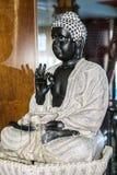 Budha statue. Black  Budha statue  . Full Shot Royalty Free Stock Images