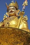 Budha-Statue im Swayambhunath-Affetempel, Kathmandu, Nepal Stockfotografie