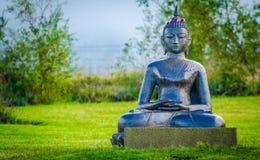 Budha. Statue at Maui,Hawaii Royalty Free Stock Photo