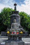 Budha. The statue of budha in open place Royalty Free Stock Photo