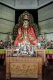 Budha. Statue of budha at semarang central java indonesia Stock Photos