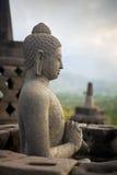 Budha statue, temple Borobudur Royalty Free Stock Photography