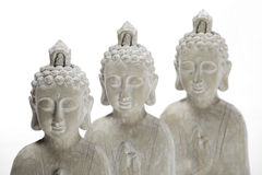 Budha statues Royalty Free Stock Photo