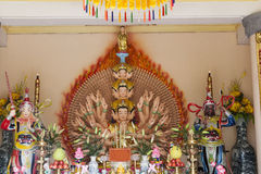 Budha with thousand arms Stock Photography