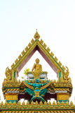 Budha u. Garuda Lizenzfreie Stockbilder