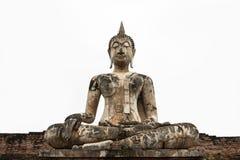 Budha velho isolou-se Fotografia de Stock