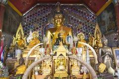 Budha Wat Pra Thad Doi Suthep Stockfotografie