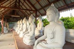 Budhastandbeelden van Thailand Royalty-vrije Stock Afbeeldingen