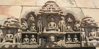 Budhda Sculptures Royalty Free Stock Images