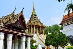 Budhha脚印寺庙 免版税库存图片