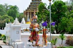 Budhha脚印寺庙 免版税库存照片