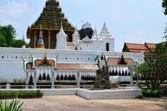 Budhha脚印寺庙 免版税图库摄影