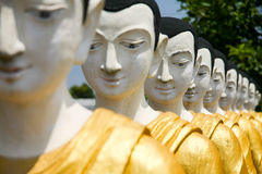 Budhhist historical site in Thailand. Stock Image