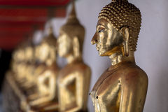 Budhhist Statues Royalty Free Stock Photos