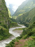 Budhi Gandaki river Stock Images