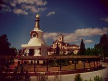 Budhism kloster Royaltyfri Bild