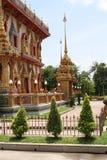Budhist寺庙在泰国 库存照片