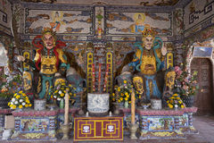 Budhist altar Stock Images