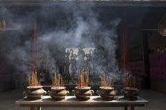 Budhist altar Royalty Free Stock Photo
