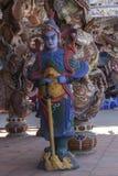 Dragon pagoda in Vietnam Stock Image