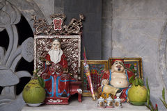 Budhist altar Royalty Free Stock Images